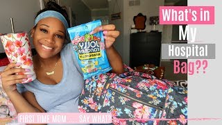 What's in MY hospital bag for labor and delivery?  || Now 37 weeks pregnant || First time mom