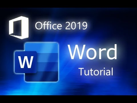 Microsoft Word 2019 – Full Tutorial for Beginners [COMPLETE]