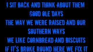 Brantley Gilbert- Dirt Road Anthem (On Screen Lyrics)