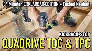 FESTOOL TDC / TPC QUADRIVE 18V Akku-Bohrschrauber - Erklärbär-Edition - Mikes Toolshop