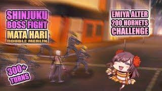 Mata Hari  - (Fate/Grand Order) - [FGO NA] Shinjuku 200 Hornet Challenge with Mata Hari (300+ turns)