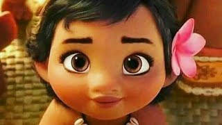 Dil Hai Chota Sa l Beautiful Animated love song l cute kids l Moana cartoon l