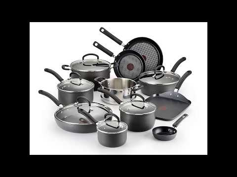 T-fal E765SH Ultimate Hard Anodized Scratch Resistant Titanium Nonstick Thermo-Spot Heat Indicator