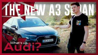 YouTube Video CeSK3VqXYak for Product Audi A3 Sportback (4th gen, Typ 8Y) by Company Audi in Industry Cars