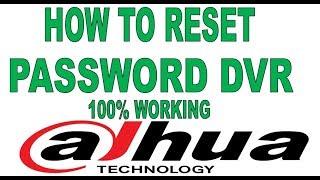 dahua dvr password reset tool - 免费在线视频最佳电影电视节目