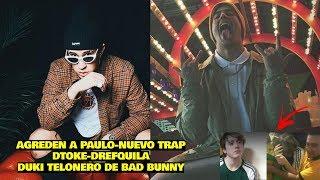 DUKI Y BAD BUNNY | MIRA LO QUE LE HICIERON A PAULO LONDRA / DTOKE - DREF - BIG SOTO - SANTIN LOTTY