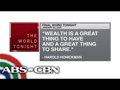 [ABS-CBN]  Final Word – January 25, 2020 | ANC