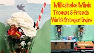 Thomas & Friends Milkshake Minis - World's Strongest Engine Toy Train Fun