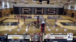 Rochester Volleyball vs North Miami