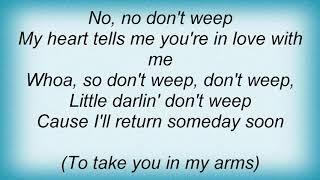 Aaron Neville - Don't Cry Lyrics