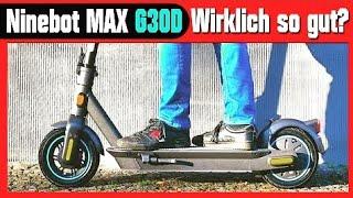 Segway Ninebot MAX G30D - Der beste ESCOOTER - JA oder NEIN? Technik, Anleitung, Unboxing (DEU-GER)