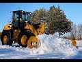 Cat® Snow Push Features