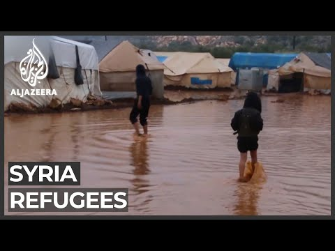 Syria refugee camps face wrath of winter rains