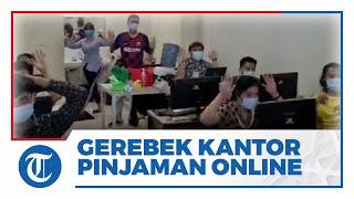 Polres Metro Jakarta Barat Gerebek Kantor Pinjaman Online di Cengkareng, 56 Pegawai Diamankan