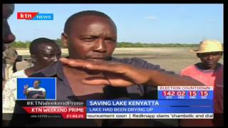 Residents of Lamu-Mpeketoni area seek to save Lake Kenyatta after drying due to drought