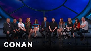"#ConanCon: The Cast Of ""Game Of Thrones"" Full Interview - CONAN on TBS"