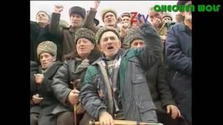 Зикр. Последний митинг. Чечня ,  Грозный, декабрь, 1994 года