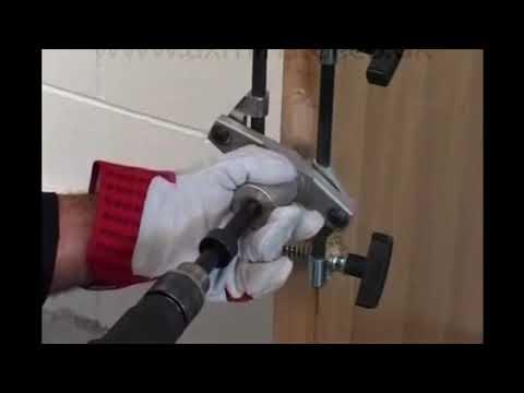 Door Handle Lock Grooving Machine