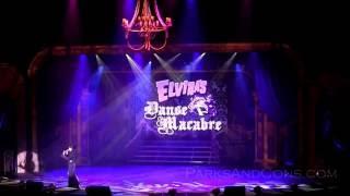 FULL HD Elvira's Danse Macabre Knott's Scary Farm Opening Night September 22 2016