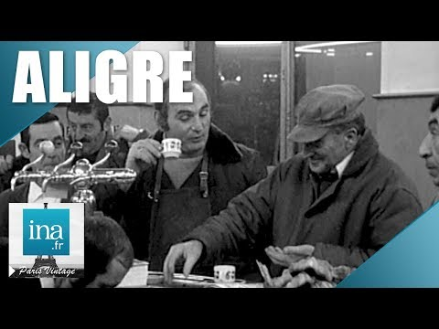 1972 : La vie du quartier d'Aligre à Paris   Archive INA