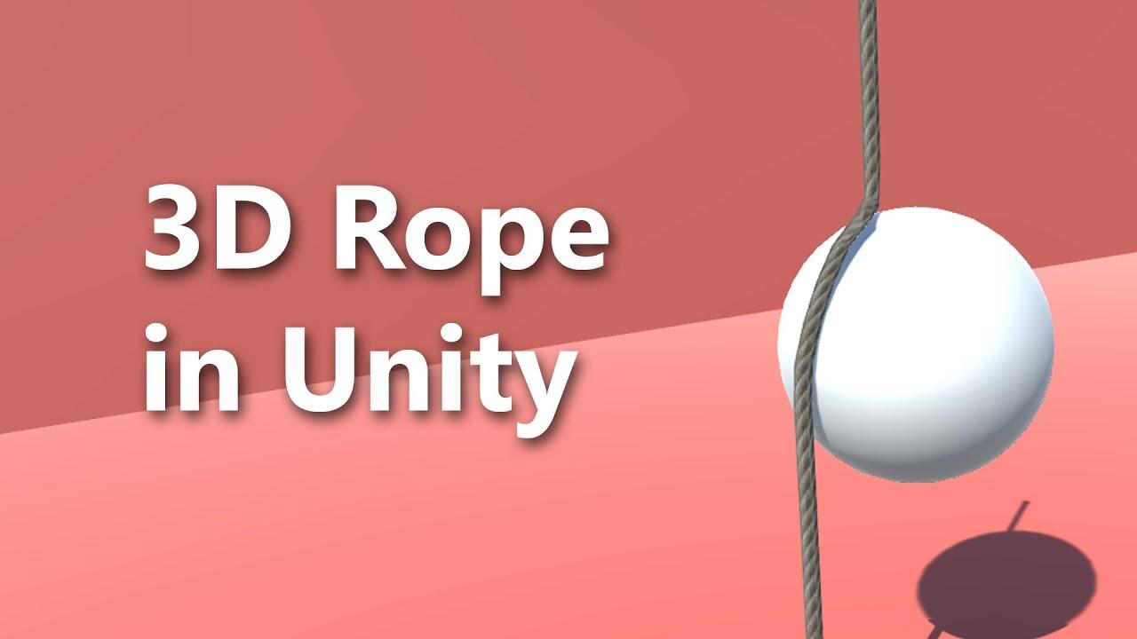 Rope Physics - Unity Tutorials