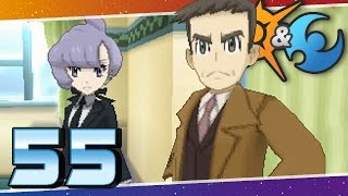 Pokémon Sun and Moon - Episode 55 | Looker Returns! The Ultra Beast Quest Begins!