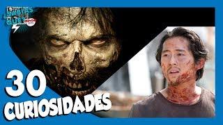 30 Curiosidades de The Walking Dead (Spoilers)-- ¿Sabías qué..?#35 |Popcorn News