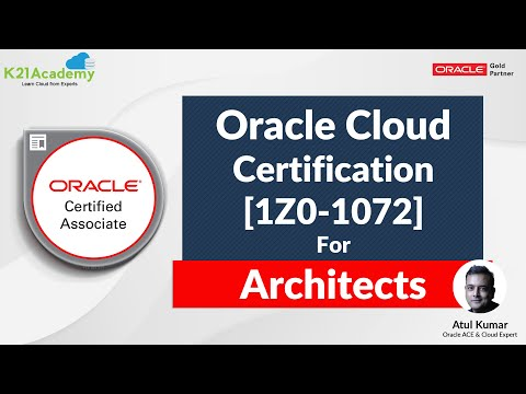Oracle Cloud Infra [1Z0-1072] Certification For Architects - YouTube
