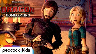 Hiccups Kids HATE Dragons? | HOW TO TRAIN YOUR DRAGON - HOMECOMING
