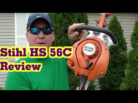 Stihl HS 56C Professional Gas Hedge Trimmer Review
