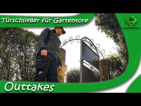 Outtakes - Türschließer für Gartentore! M1Molter