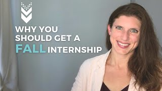 When to look for fall internships