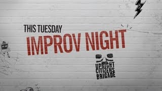 Improv Night With UCB Comedy - YouTube Comedy Week Live