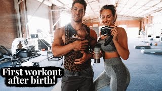 First workout after birth | 7 weeks postpartum