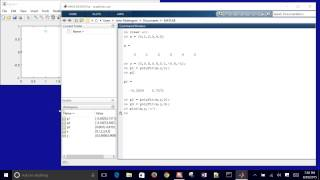 Linear and Polynomial Regression in MATLAB