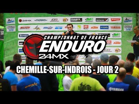 Résumé championnat de France d'enduro Chemillé-sur-Indrois J2