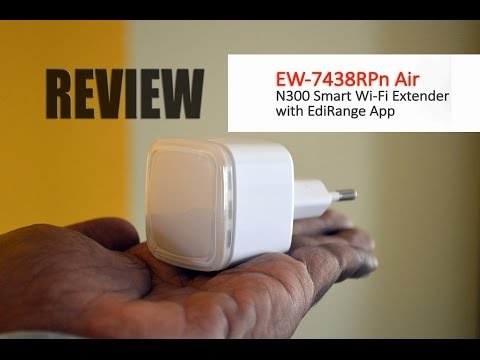 Edimax EW 7438RPn AIR N300 Smart Wi Fi Extender Review