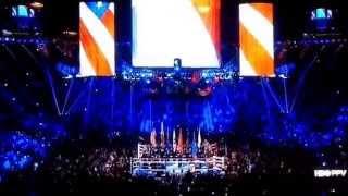Ashanti Sings National Anthem Performance | Paquiao Bradley Fight (2014) | #ThreeSides2TheTruth