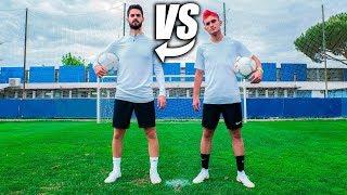 ISCO ALARCÓN VS DELANTERO09 - Retos De Fútbol