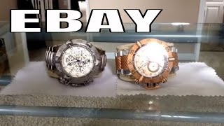 Invicta Watch Collection Part II from Ebay