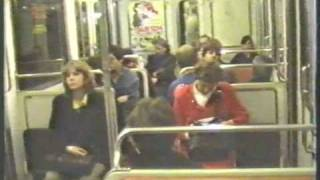 preview picture of video 'Paris Metro MA52 & MP73 stock rides 1988'