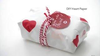 Heart Wax Paper
