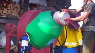 Бетономешалка Скиф БСМ-180 - видео 1
