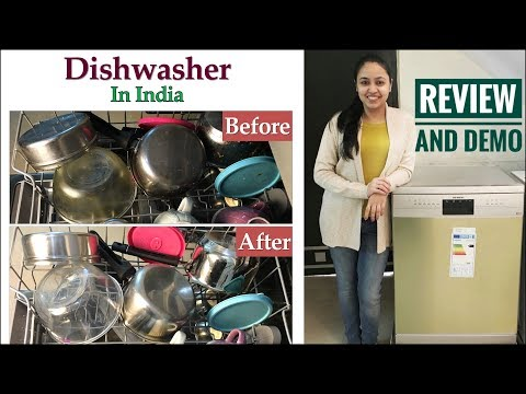 Dishwasher Review 2018 Hindi | Siemens Dishwasher | Is It Worth The Price?  Dishwasher Review India