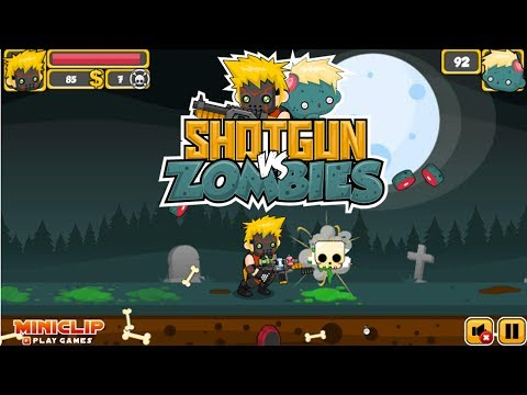 Shotgun vs Zombies Gameplay Thumbnail