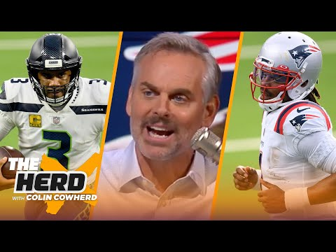 Bears want to make move on Russell Wilson, talks Pats re-signing Cam Newton — Colin | NFL | THE HERD