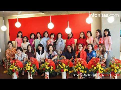 Sambut Imlek, Joyful Flowers Gelar Kursus Merangkai Bunga