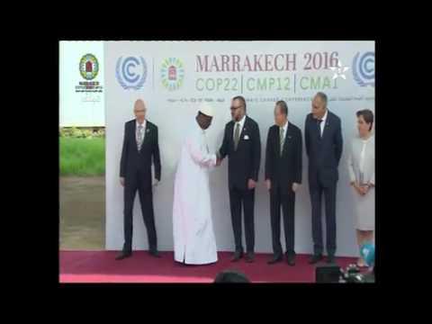 Retour en image sur les moments forts de la COP22