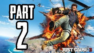 Just Cause 3 | #2 | Agraelus | CZ Lets Play / Gameplay [720p60] [PC]