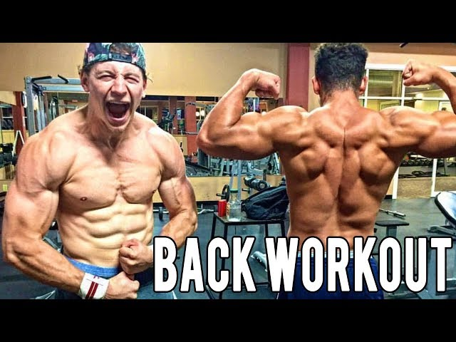 JOSH IS BACK!! Great Back Workout With The Family